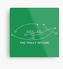 Das Philly-Special Metallbild