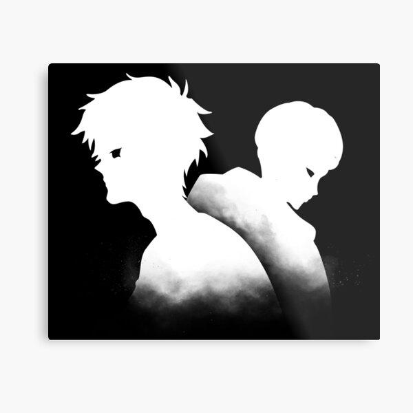 Devilman Crybaby - Ryo and Akira Metal Print