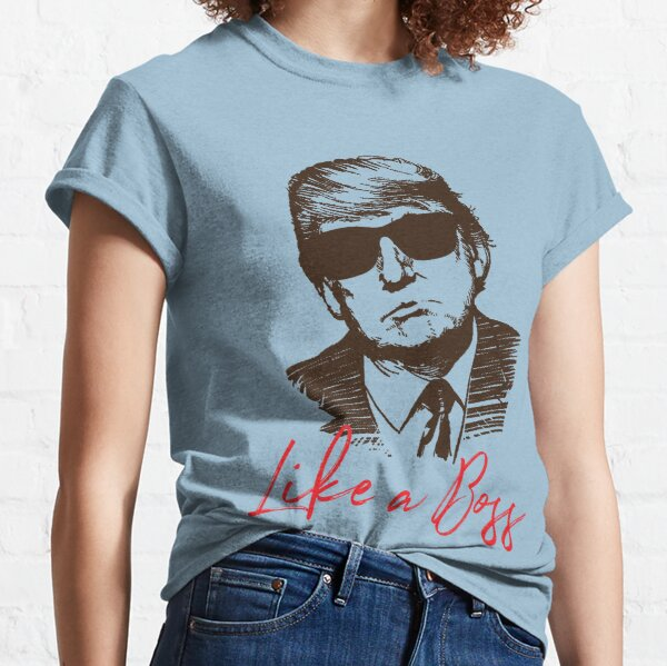 Like A Boss Donald Trump Sketch Drawing Classic T-Shirt