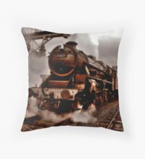 """""""All Aboard"""" Throw Pillow"""