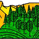 Oregon Pacific Northwest Portland Eugene Salem Bend Beaverton Medford Corvallis by MyHandmadeSigns