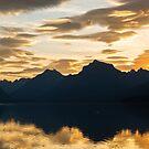 Serene Lake McDonald, Glacier NP by Adam Nixon
