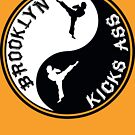 BROOKLYN KICK ASS YING YANG by 4playbk