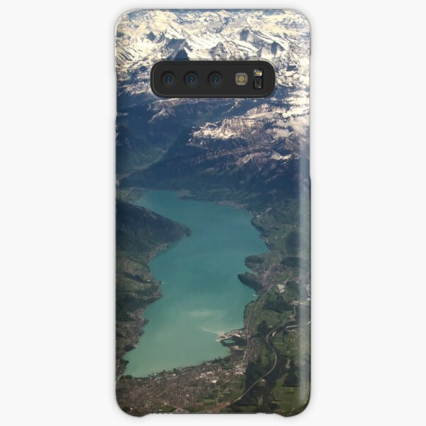 Lake Thun: North Face of the Eiger, Moench and Jungfrau Samsung Galaxy Snap Case