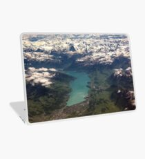 Lake Thun: North Face of the Eiger, Moench and Jungfrau Laptop Skin