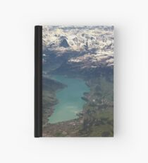 Lake Thun: North Face of the Eiger, Moench and Jungfrau Hardcover Journal