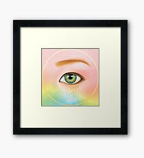 The Awakening Eye Framed Print