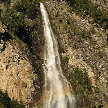 Waterfall by Wazuki