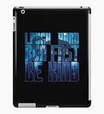 TN - Twelfth Doctor quotes iPad Case/Skin