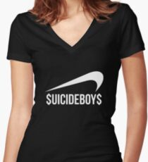 SuicideBoys NK Women's Fitted V-Neck T-Shirt
