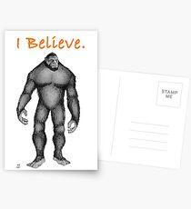 I Believe Postcards