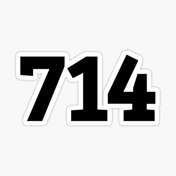 714 Sticker