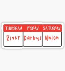 Weekend Plans  Sticker