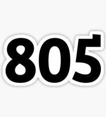 805 Sticker
