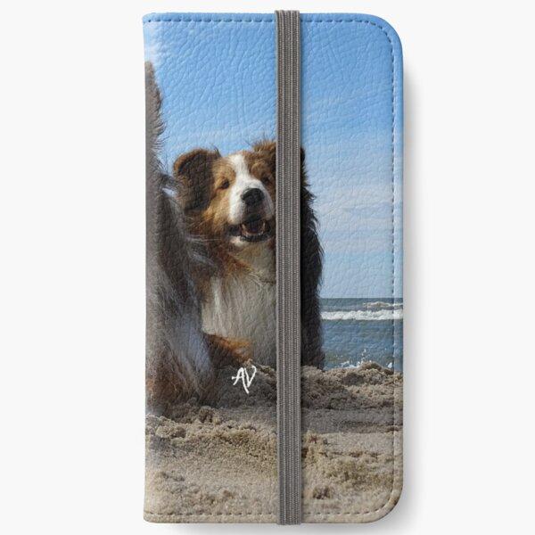 Shelties at Sea iPhone Wallet