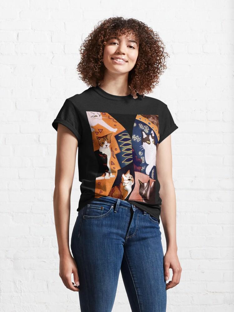 Alternate view of Freddie Mercury's Waistcoat Classic T-Shirt