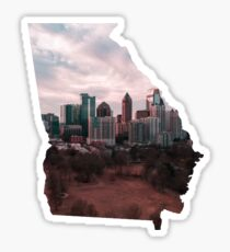 Atlanta Skyline Badge (Piedmont Park) |TheStateRace.com Sticker