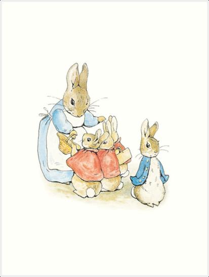 Peter Hase - Beatrix Potter von BrambleBox