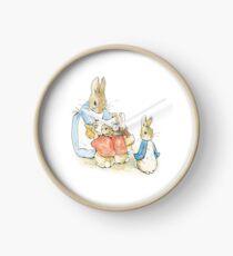 Peter Rabbit - Beatrix Potter Clock