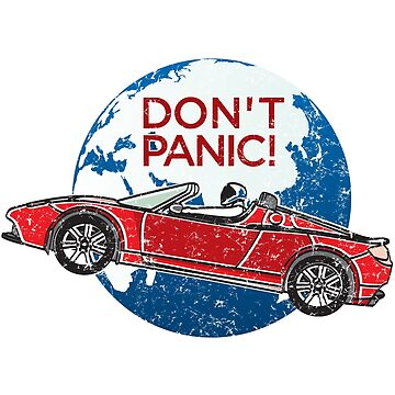Don't Panic! - a tribute to Elon Musk, Spaceman and the Red Roadster by kolbasound