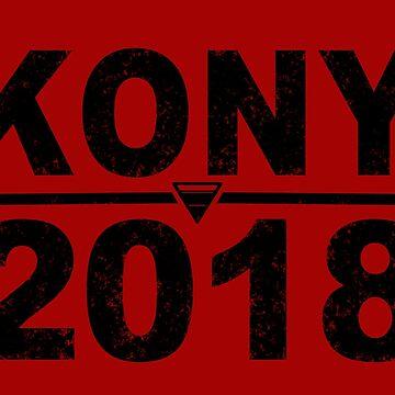 Kony 2018 by JCoulterArtist