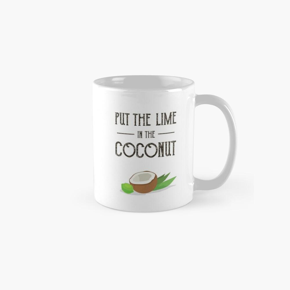 Setzen Sie den Kalk in den Kokosnuss-Druck Harry Nilsson Tassen