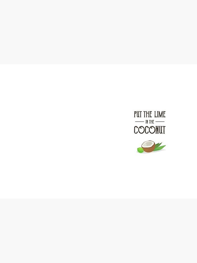 Setzen Sie den Kalk in den Kokosnuss-Druck Harry Nilsson von MentDesigns
