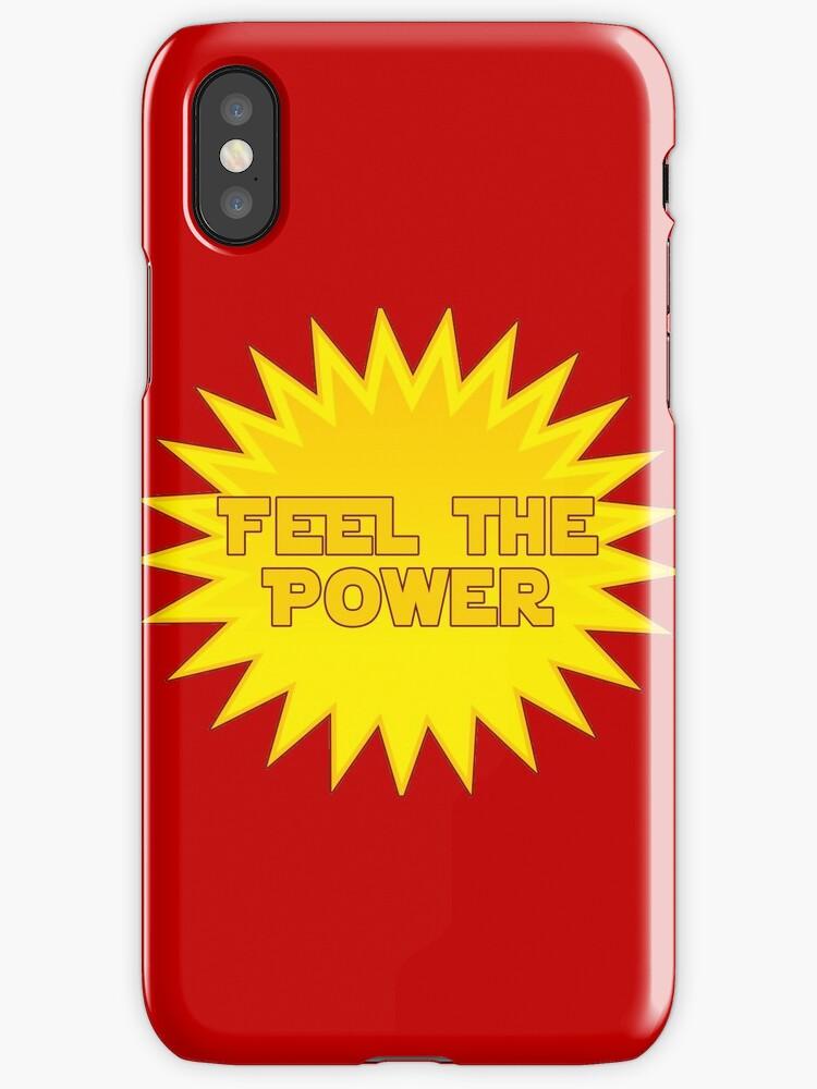 Solar energy feel the power sticker decal by deanworld