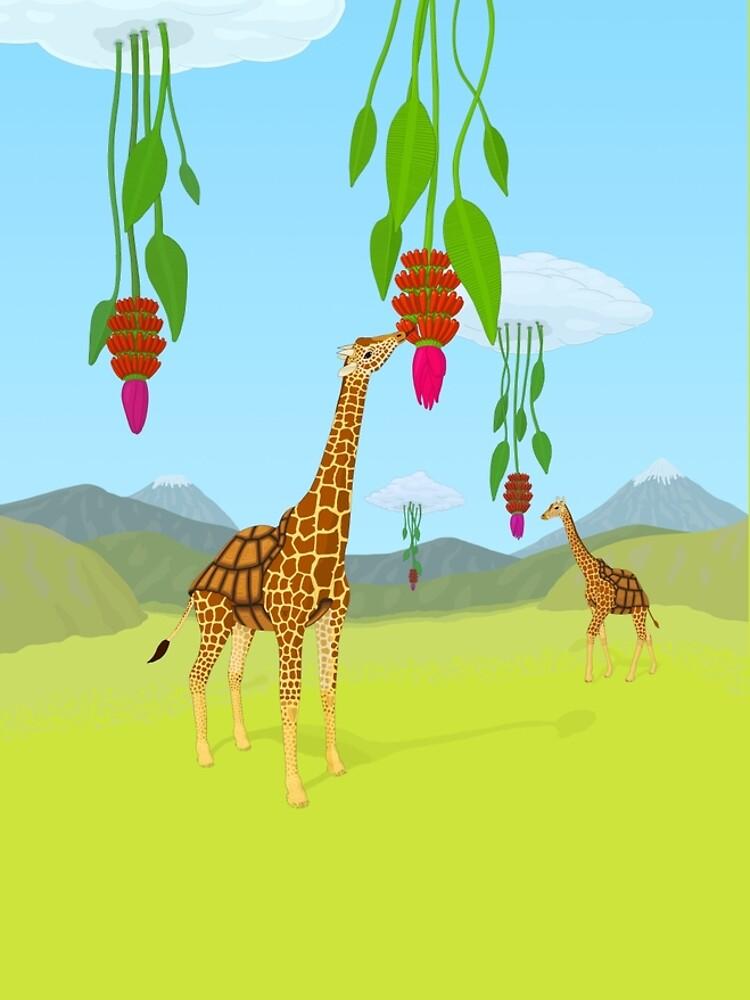 Giraffe, Tortoise? Girtoise! by thorwil