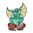 Ganesha Tabla Instrument by artkarthik