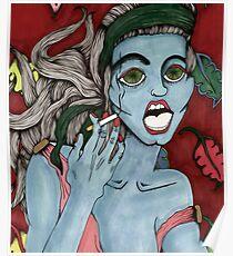 Creature in pub  Poster