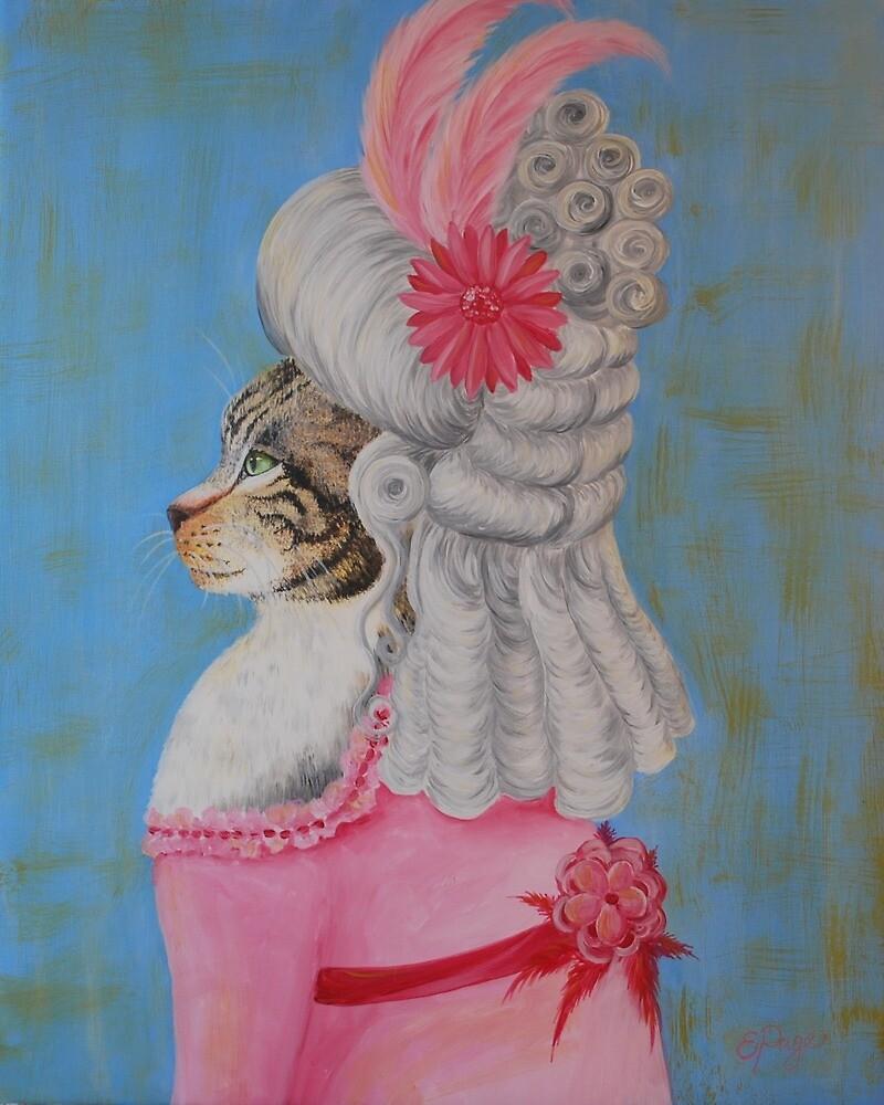Marie Catoinette by emilypageart
