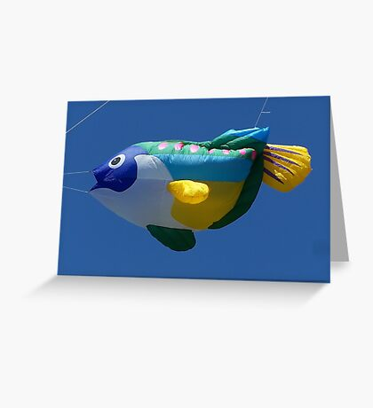 """""""Go fly a kite  (or a balloon)!"""" Greeting Card"""