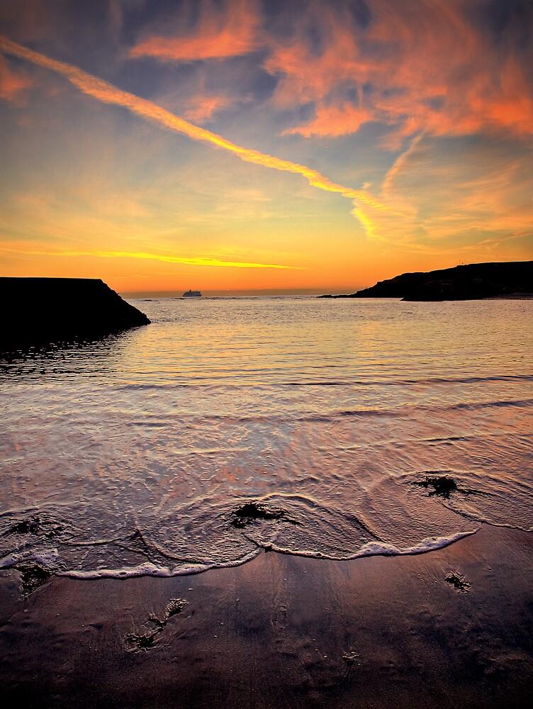 Cullercoats Bay by Alan Watt