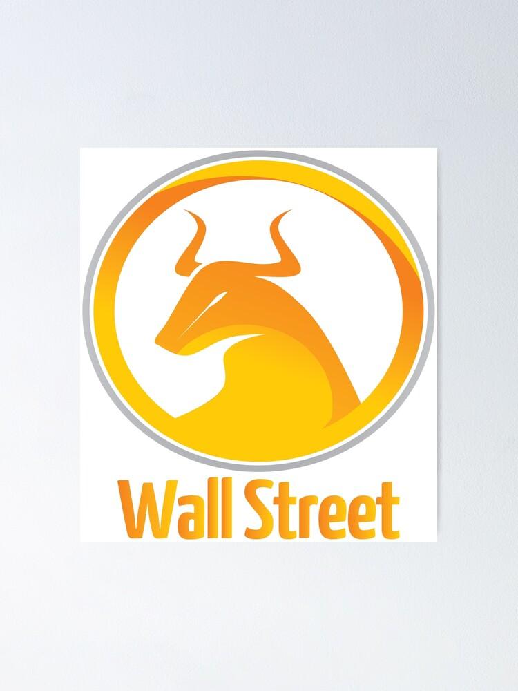 Pick Size Wall Street Bull Market Art Canvas or Glossy Wolf of Wall Street