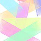 Minimalist Pastel Print by Fangpunk