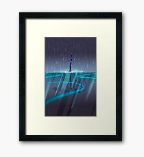 Blue Paladin Framed Print