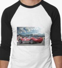 1960 Winton Special 'Vintage Race Car' Men's Baseball ¾ T-Shirt