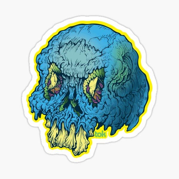 DAD - TOK Skull Sticker
