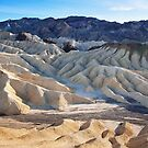 Eroded Geology of Death Valley (Zabriskie Point) by Hotaik  Sung
