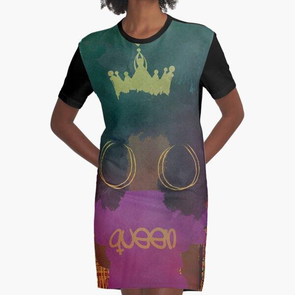 CULTURED QUEEN  Graphic T-Shirt Dress