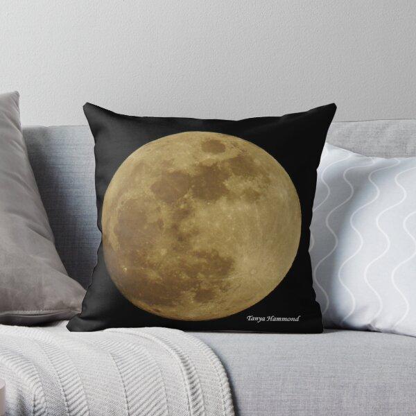 Mystical Full Moon Throw Pillow