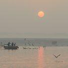 Ganga Sunrise 01 by Werner Padarin