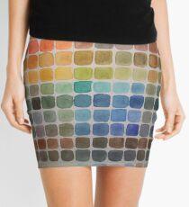 Color Chart Mini Skirt