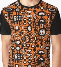 Mechanoid Structure Graphic T-Shirt