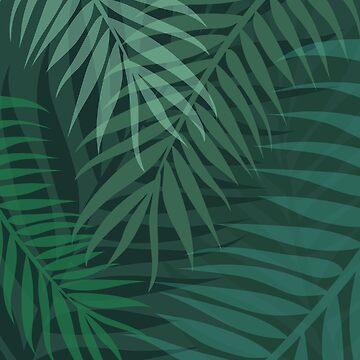 Palm Leaf Pattern by Fangpunk