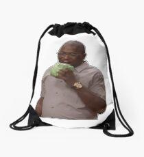 hannibal buress eating lettuce // cabbage - eric andre show Drawstring Bag