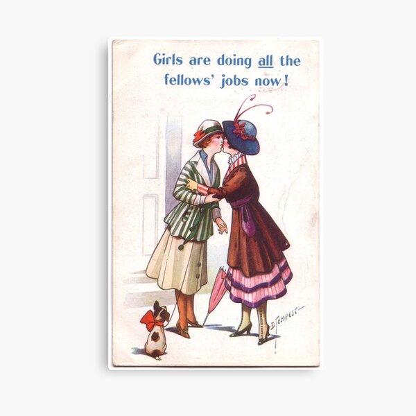 Lesbian Suffragettes Canvas Print