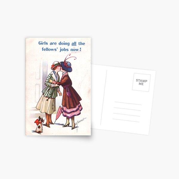 Lesbian Suffragettes Postcard