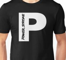 PowerStroke White Unisex T-Shirt